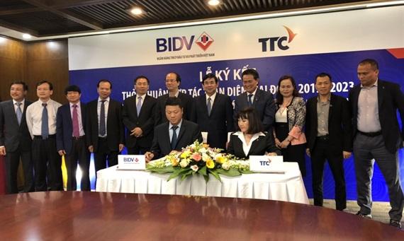 Tập đoàn TTC và BIDV ký thỏa thuận hợp tác toàn diện giai đoạn 2019 - 2023