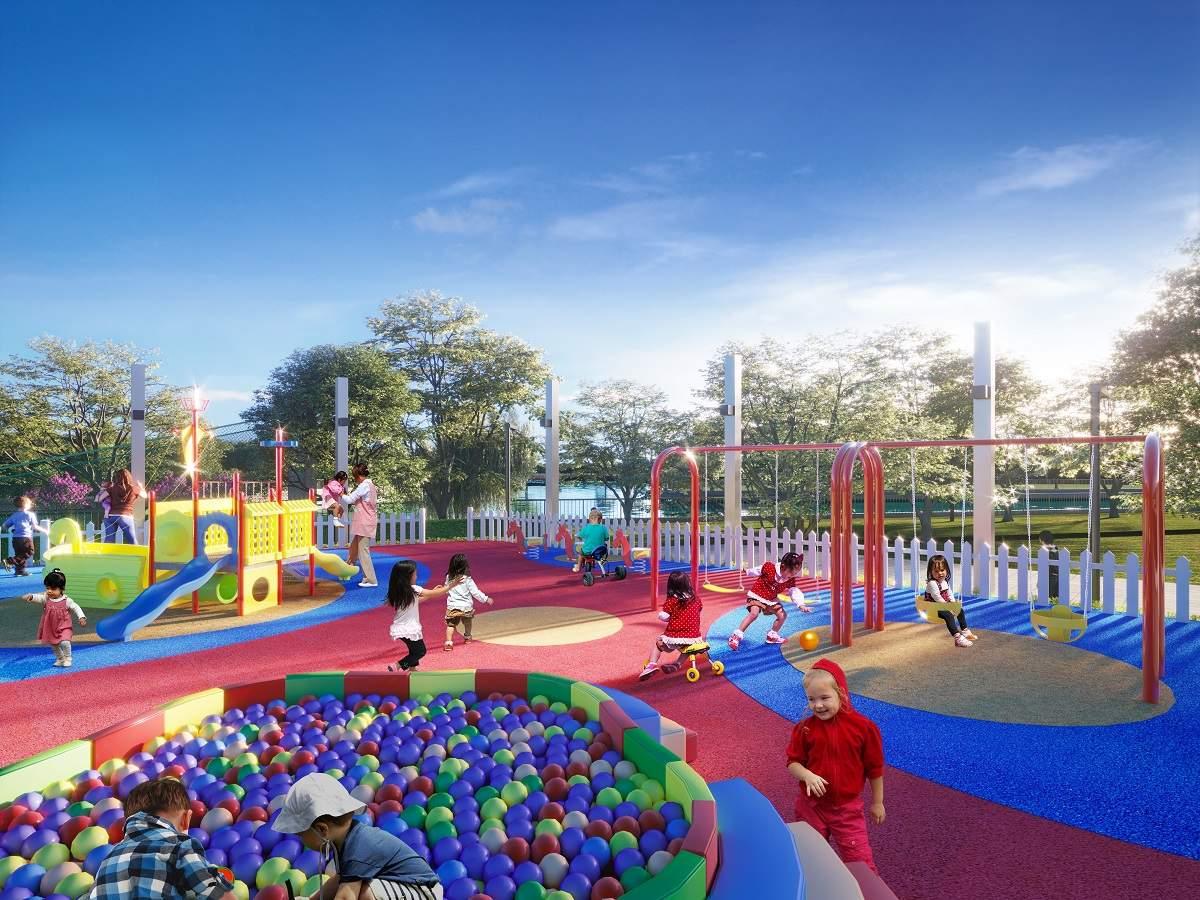 Những dự án sở hữu hàng loạt các tiện ích triệu đô cho trẻ nhỏ