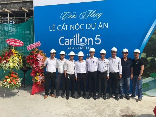 TTCLAND cất nóc dự án Carillon 5 tại Quận Tân Phú