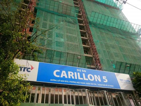 Cập nhật tiến độ dự án Carillon 5 tháng 01/2018