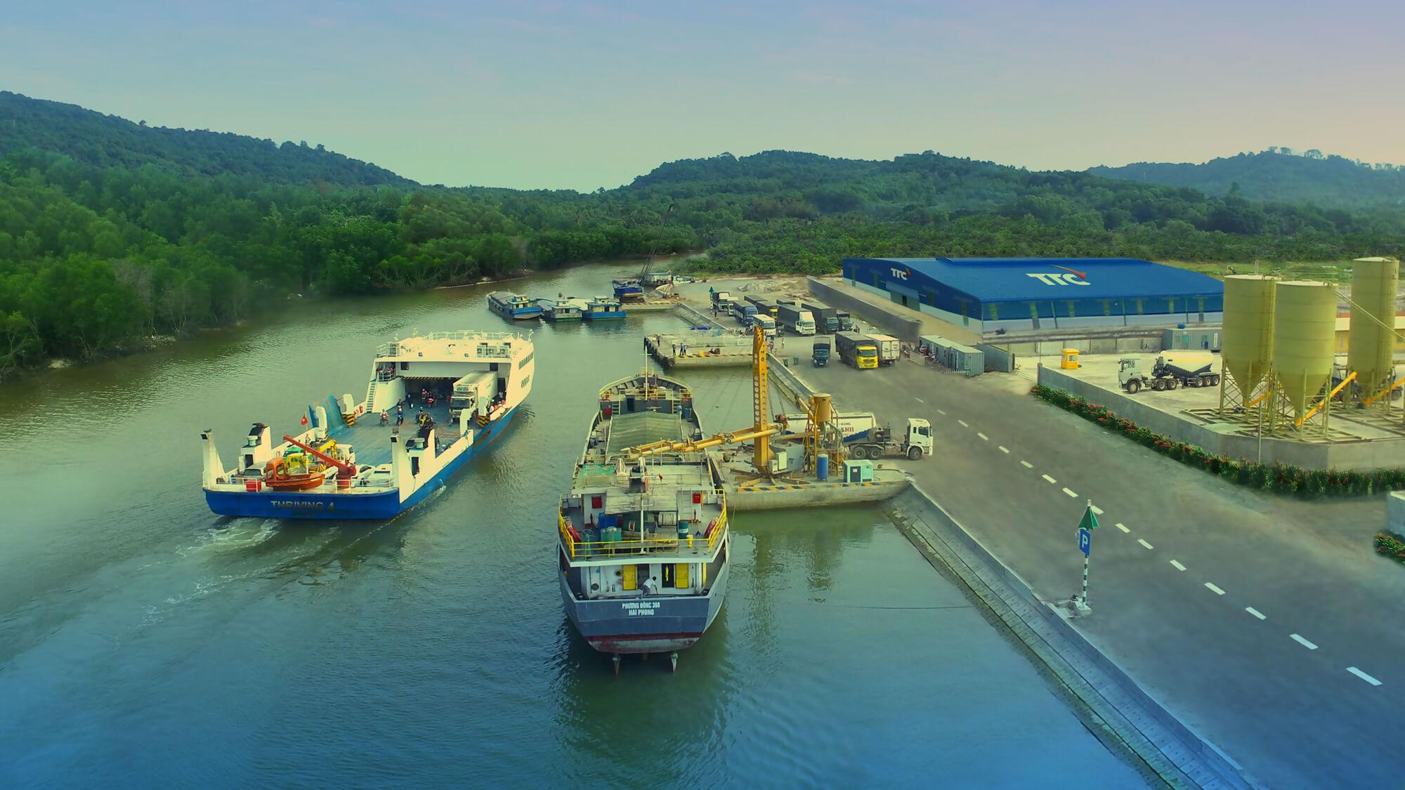 Khu liên hợp cảng – Công nghiệp – Dịch vụ Vịnh Đầm