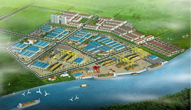 Tân Kim Mở Rộng - KCN nằm trọng vùng kinh tế trọng điểm phía Nam