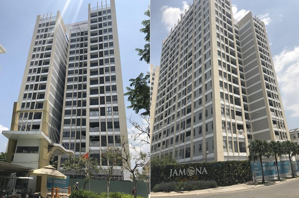 Cập nhật tiến độ dự án Jamona Heights tháng 03/2019