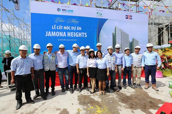Cập nhật tiến độ dự án Jamona Heights tháng 07/2018