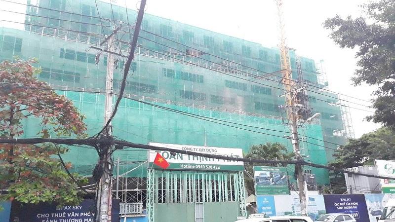 Cập nhật tiến độ dự án TTC Plaza Bình Thạnh tháng 10/2018