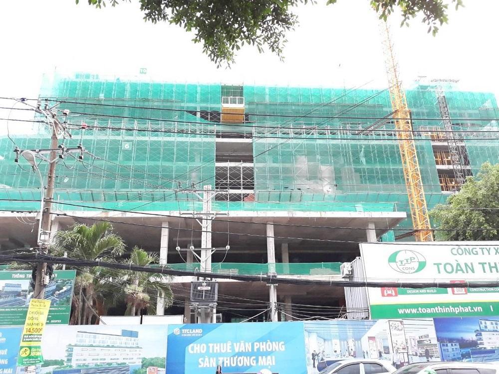 Cập nhật tiến độ dự án TTC Plaza Bình Thạnh tháng 8/2018