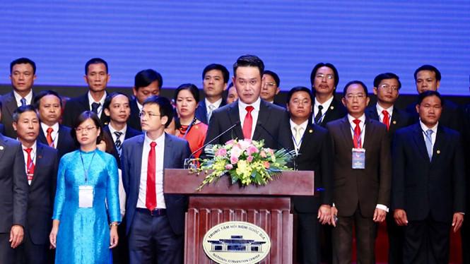 Phó Chủ tịch tập đoàn Thành Thành Công làm Chủ tịch Hội Doanh nhân trẻ