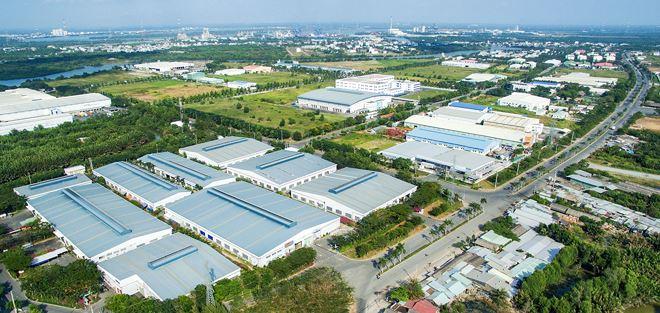 Vốn ngoại hướng vào bất động sản công nghiệp