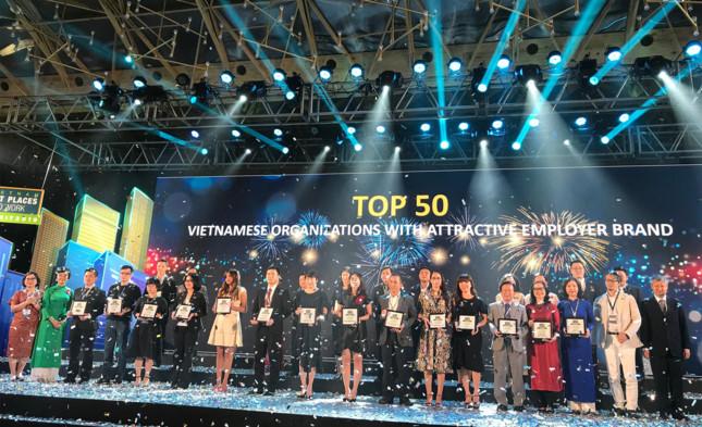 TTC Land vào Top 50 Doanh nghiệp Việt có thương hiệu tuyển dụng hấp dẫn nhất 2018