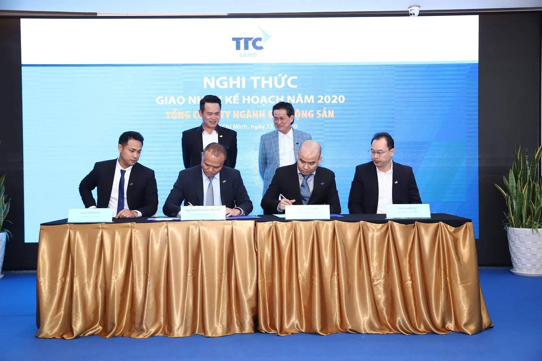 Mục tiêu  TTC Land năm 2020: Vừa Củng cố vừa Phát triển
