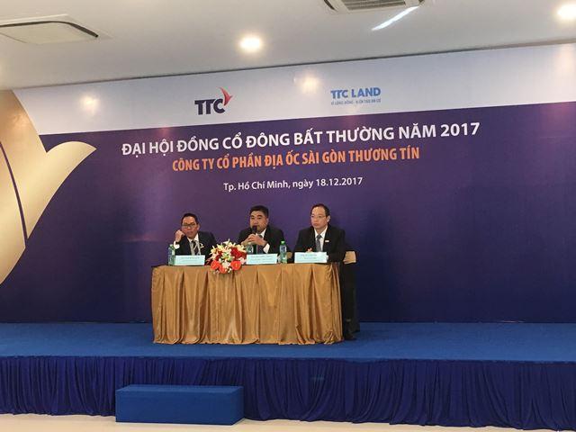 ĐHĐCĐ TTC Land: Cho Thành Thành Công tăng sở hữu là nhằm phát triển BĐS khu công nghiệp