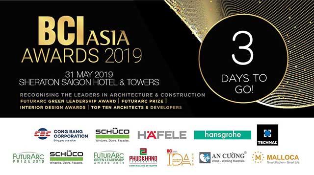 BCI công bố Top 10 công ty hàng đầu trong ngành kiến trúc, xây dựng Việt Nam 2019