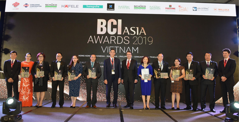 """Tin tổng hợp: TTC Land đạt giải """"Top 10 Chủ đầu tư hàng đầu 2019"""" tại BCI Asia Awards"""