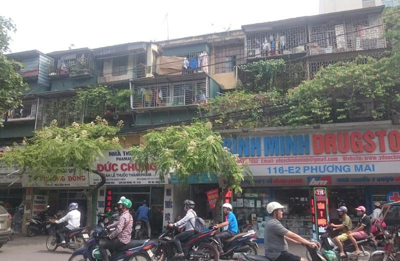 Cách nào tái phát triển các khu chung cư cũ?