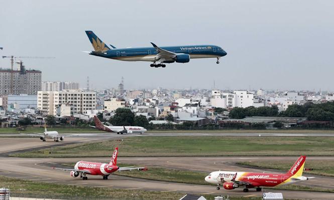 Cấp bách mở rộng sân bay Tân Sơn Nhất