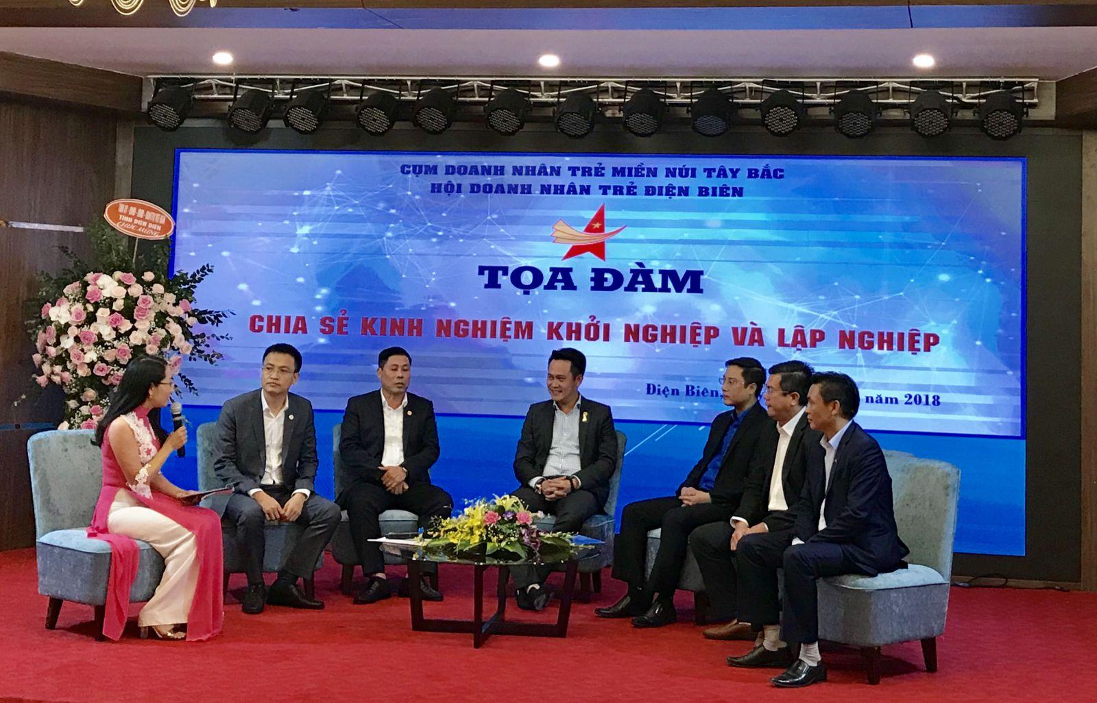 Doanh nhân trẻ Việt Nam chia sẻ kinh nghiệm khởi nghiệp và lập nghiệp